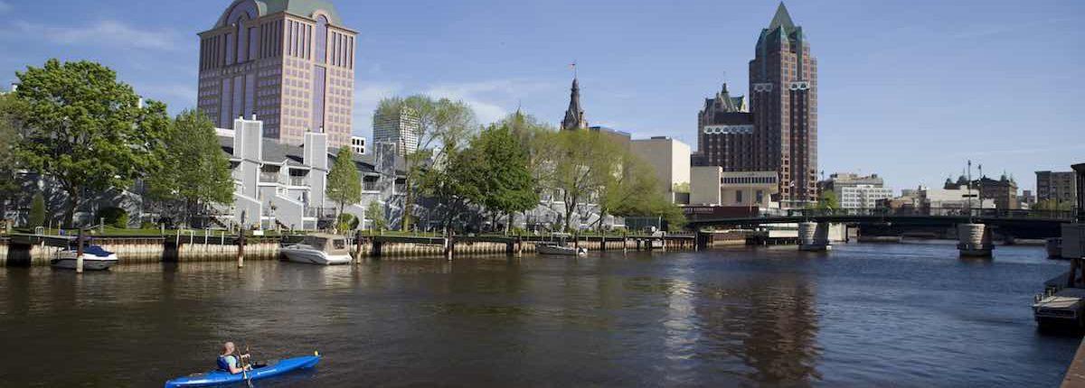 Kayaks (photo compliments of Visit Milwaukee)
